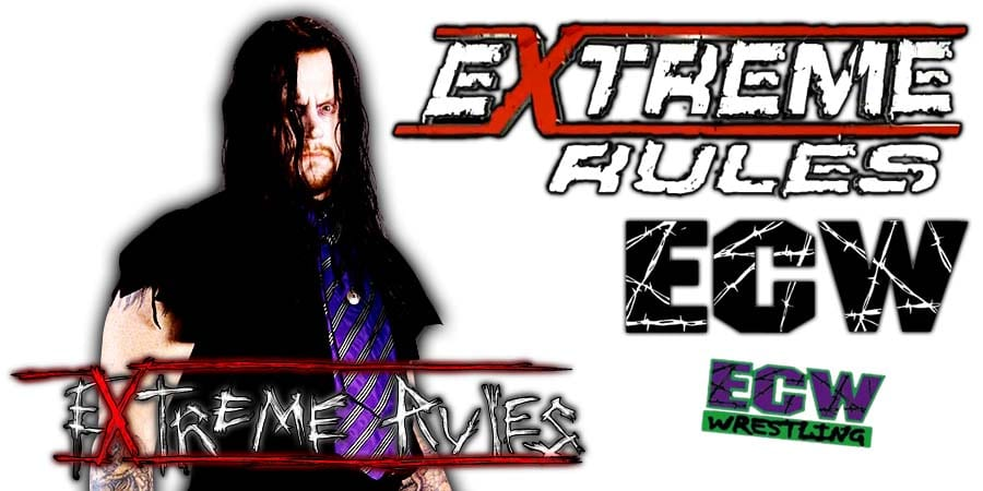 Undertaker Extreme Rules 2019