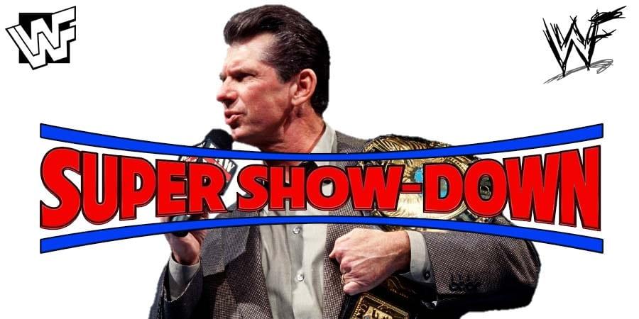 Vince McMahon WWE Super ShowDown