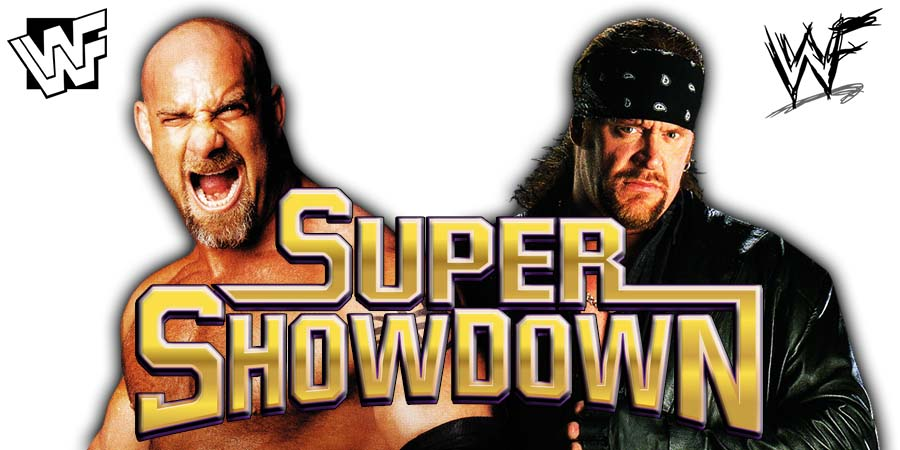 WWE Super ShowDown Goldberg vs. The Undertaker