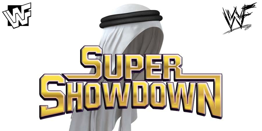WWE Super ShowDown Saudi Arabia