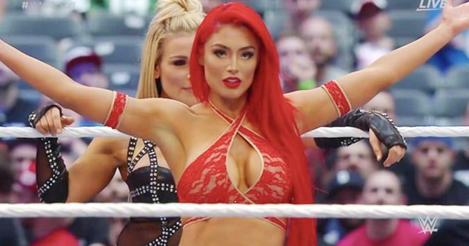 Eva Marie WWE WrestleMania 32