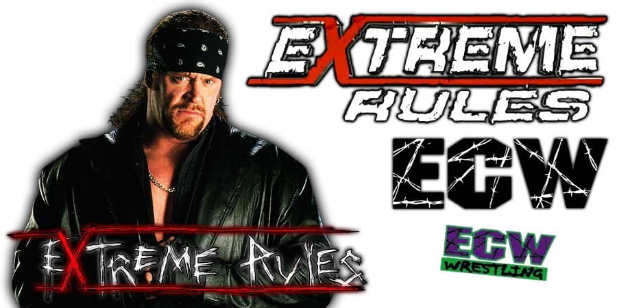 Extreme Rules 2019 The Undertaker