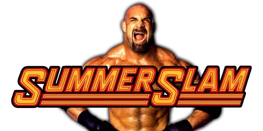 Goldberg WWE SummerSlam