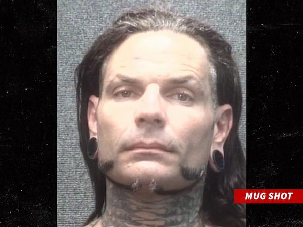 Jeff Hardy Arrested July 2019 Mugshot