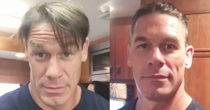 John Cena Reveals New Hairstyle Big Increase In Raw Viewership