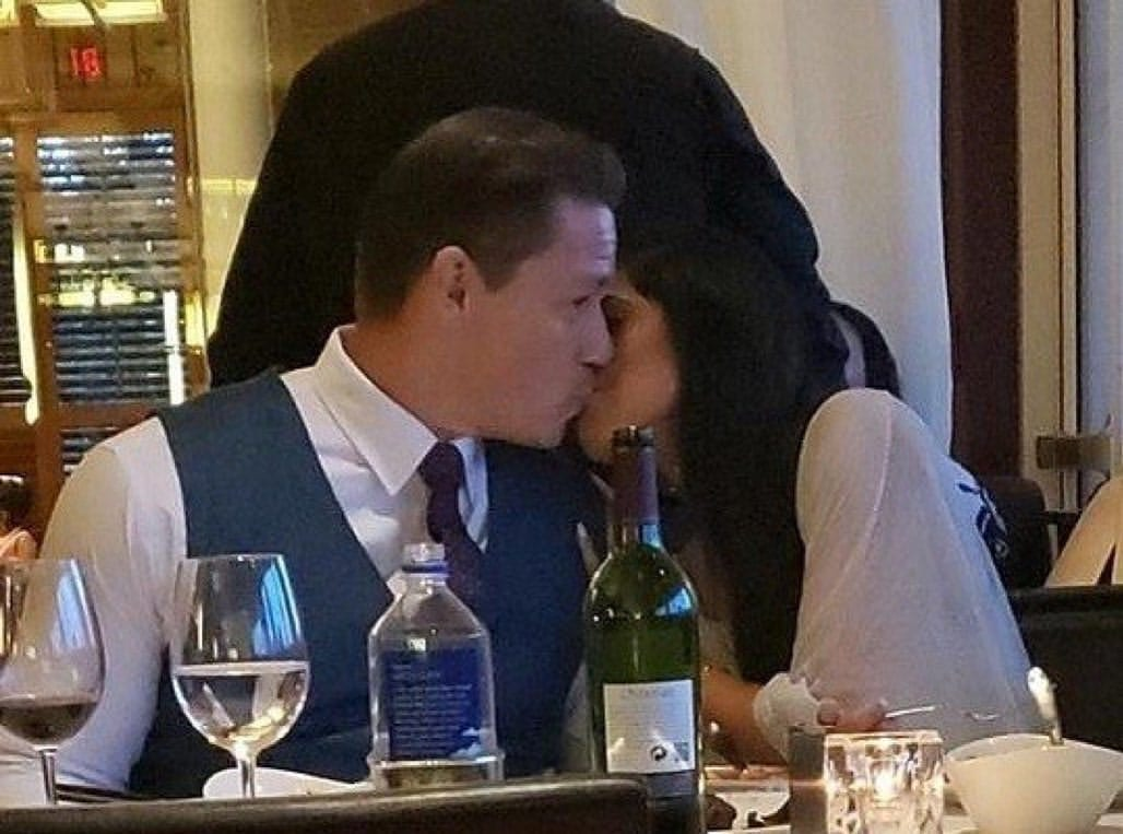 John Cena Spotted Making Out With His Girlfriend Shay Shariatzadeh In Public