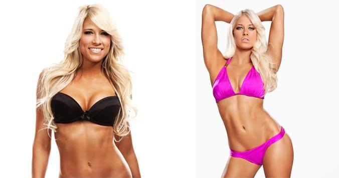 Kelly Kelly Barbie Blank Hot WWE Bikini