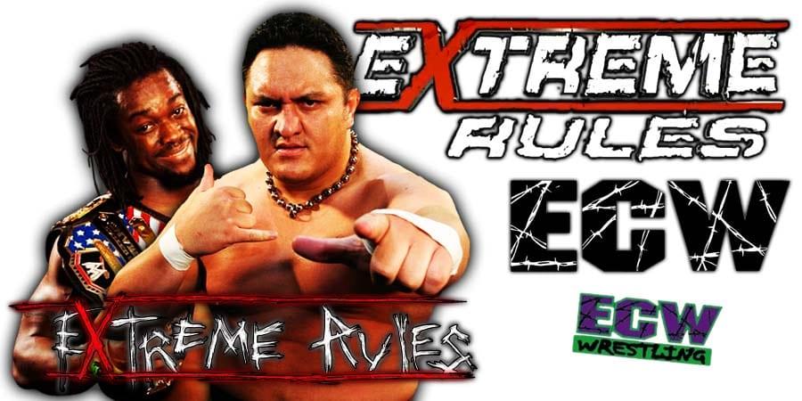 Kofi Kingston vs. Samoa Joe WWE Extreme Rules 2019