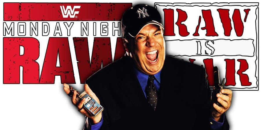 Paul Heyman Paul E Dangerously WWE RAW Executive Director