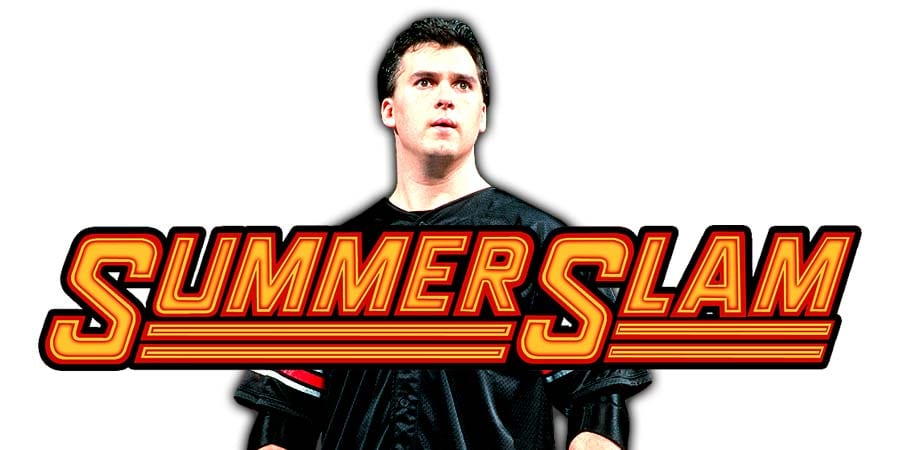 Shane McMahon SummerSlam 2019
