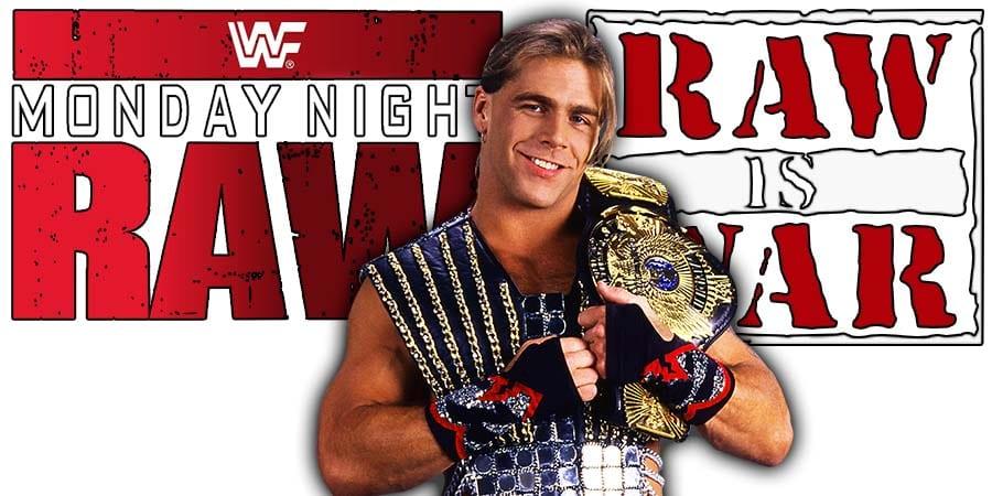 Shawn Michaels HBK WWF WWE RAW