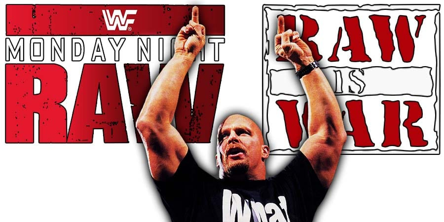 Stone Cold Steve Austin Middle Fingers WWF WWE RAW