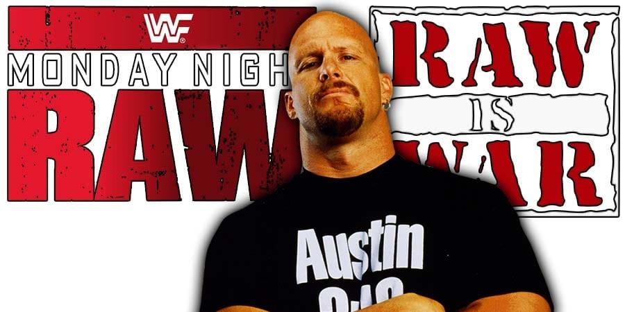 Stone Cold Steve Austin WWF WWE RAW