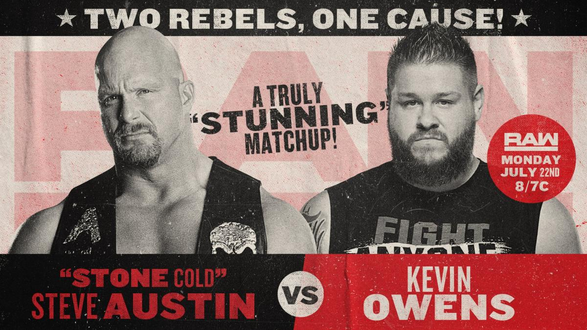 Stone Cold Steve Austin vs. Kevin Owens - WWE Dream Match