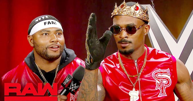 The Street Profits WWE RAW 2019