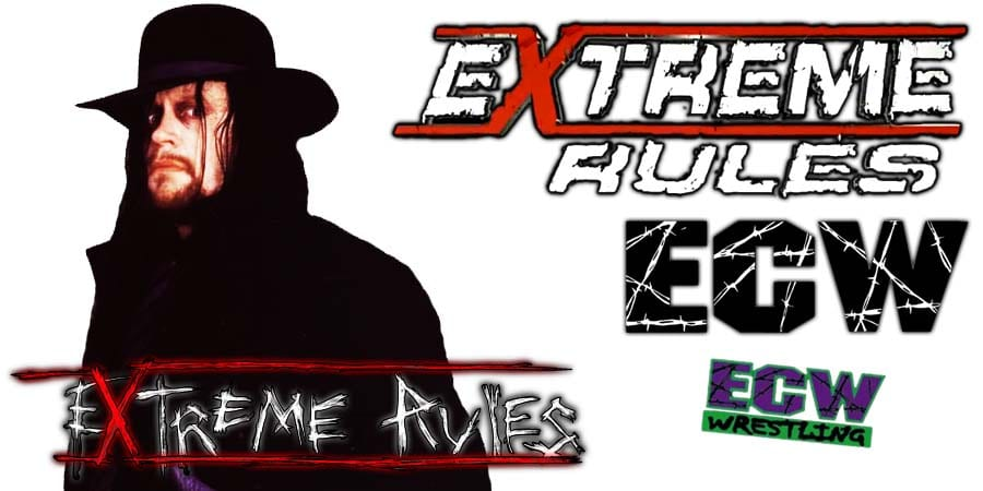 The Undertaker WWE Extreme Rules 2019