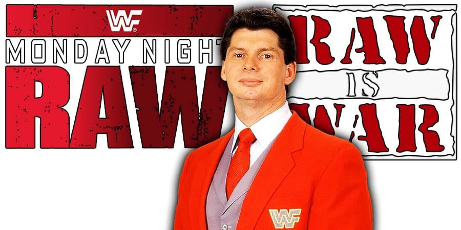 Vince McMahon WWE WWF Monday Night RAW