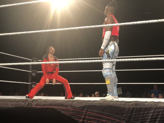 WWE Champion Kofi Kingston vs. Intercontinental Champion Shinsuke Nakamura - WWE Live Event July 2019