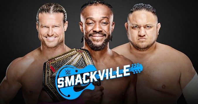 WWE SmackVille - Kofi Kingston vs. Samoa Joe vs. Dolph Ziggler for the WWE Championship
