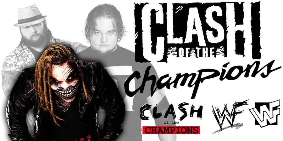 Bray Wyatt Fiend WWE Clash Of Champions 2019