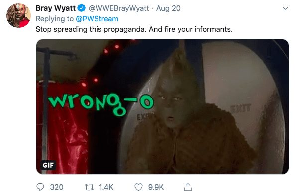 Bray Wyatt Shoots Down Rumor Of WWE Toning Down The Fiend Gimmick