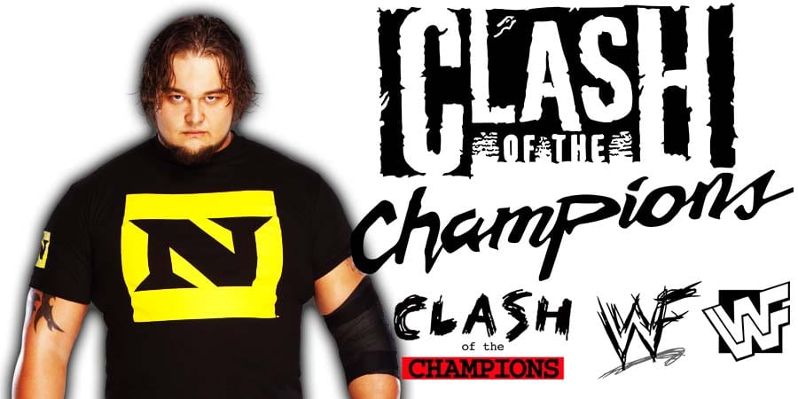 Bray Wyatt WWE Clash Of Champions