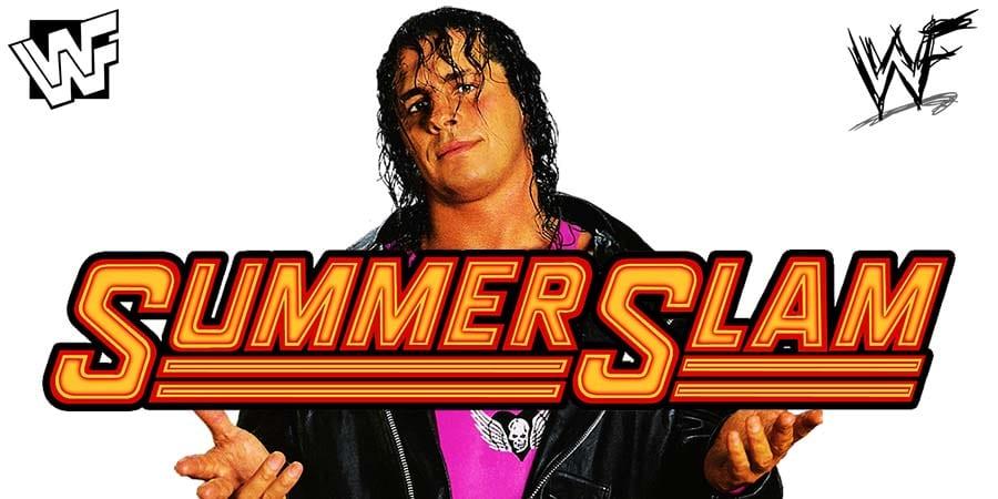 Bret Hart WWF WWE SummerSlam