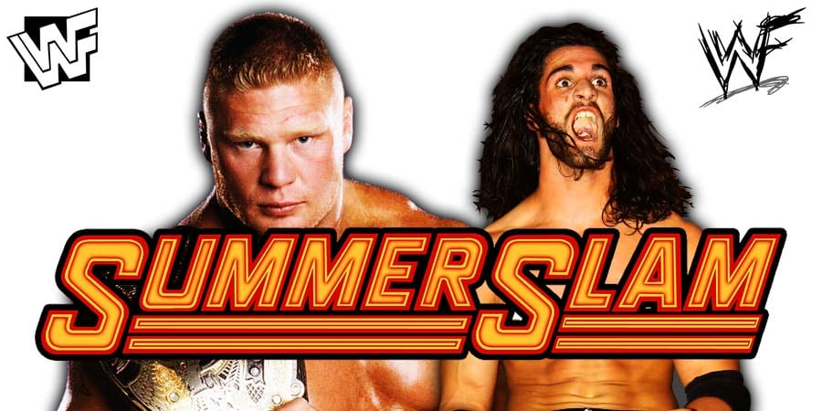 Brock Lesnar vs. Seth Rollins - WWE SummerSlam 2019