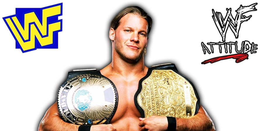 Chris Jericho WWF Undisputed Champion 2001 2002