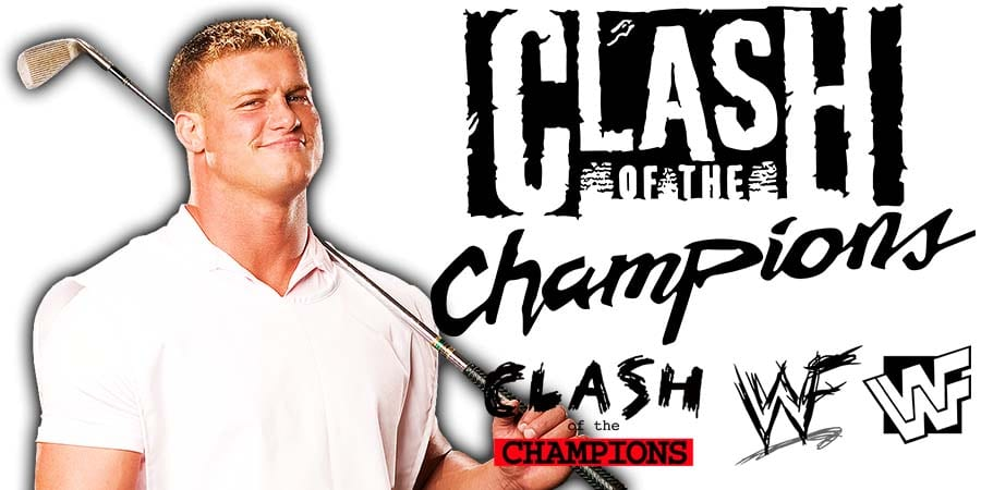 Dolph Ziggler WWE Clash Of Champions 2019