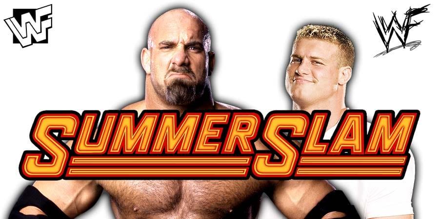 Goldberg Dolph Ziggler SummerSlam 2019 WWE Match