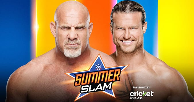 Goldberg vs. Dolph Ziggler - WWE SummerSlam 2019 Official Graphic