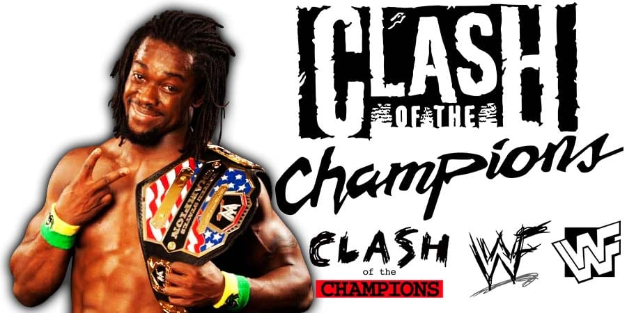 Kofi Kingston WWE Clash Of Champions