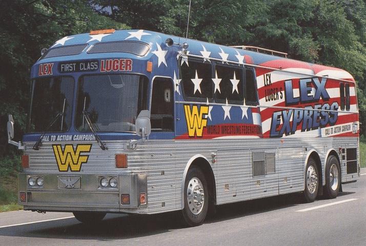 Lex Express WWF World Wrestling Federation