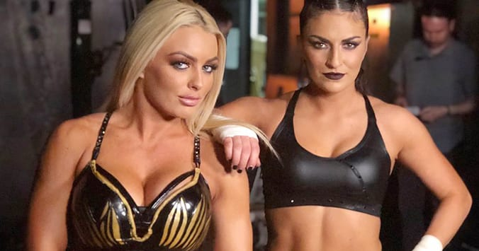 Mandy Rose Sonya Deville WWE