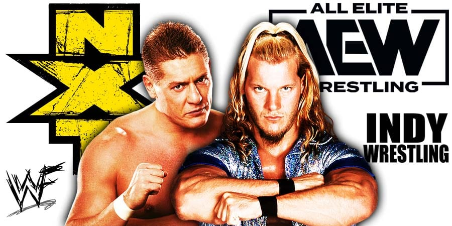 NXT WWE vs AEW Wednesday Night War