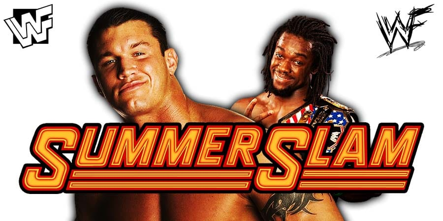 Randy Orton vs. Kofi Kingston - SummerSlam 2019 WWE Title Match