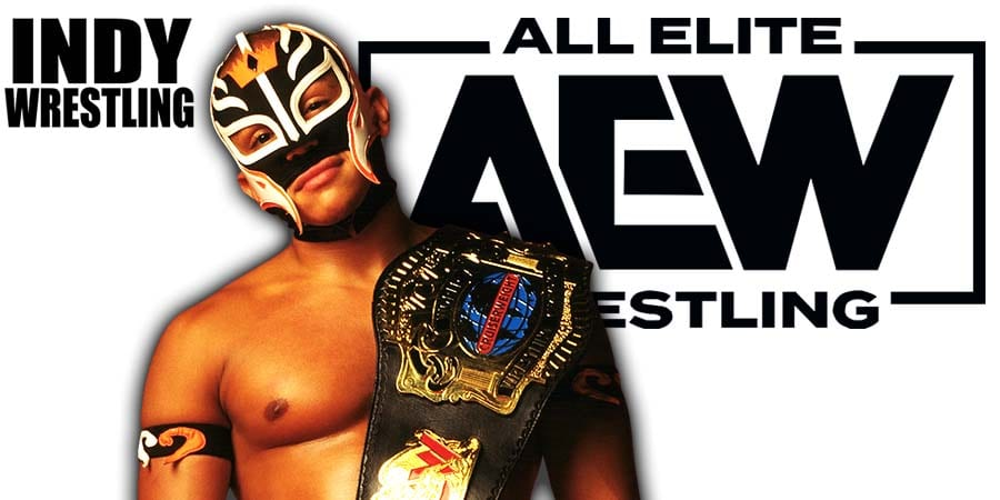Rey Mysterio AEW All Elite Wrestling