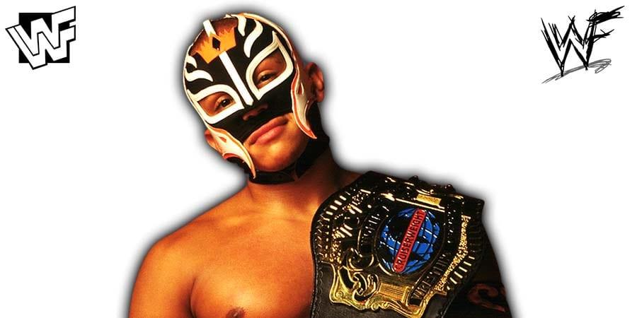 Rey Mysterio WCW Cruiserweight Champion