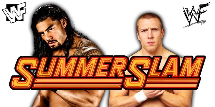 Roman Reigns Daniel Bryan SummerSlam 2019 Angle