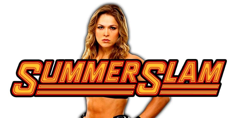 Ronda Rousey WWE SummerSlam 2019