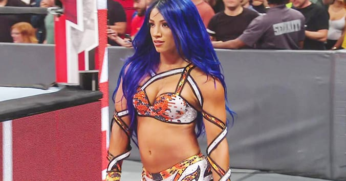 Sasha Banks returns with new hair color on WWE RAW After SummerSlam 2019