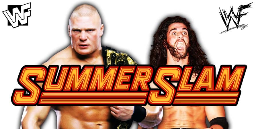 Seth Rollins expected to defeat Brock Lesnar at SummerSlam 2019
