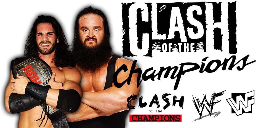 Seth Rollins vs. Braun Strowman - WWE Clash Of Champions 2019