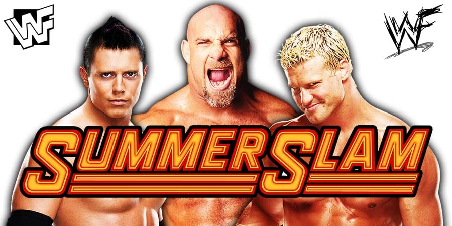 The Miz Goldberg Dolph Ziggler WWE SummerSlam 2019