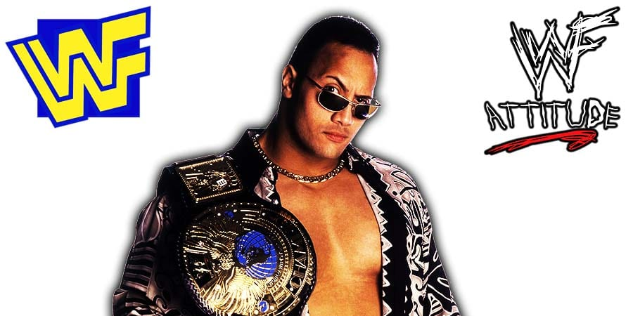 The Rock WWF Champion