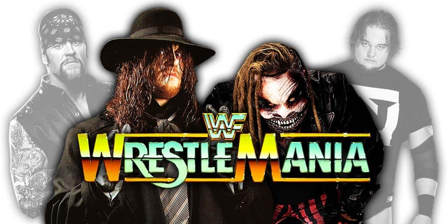 The Undertaker vs. The Fiend Bray Wyatt - WrestleMania