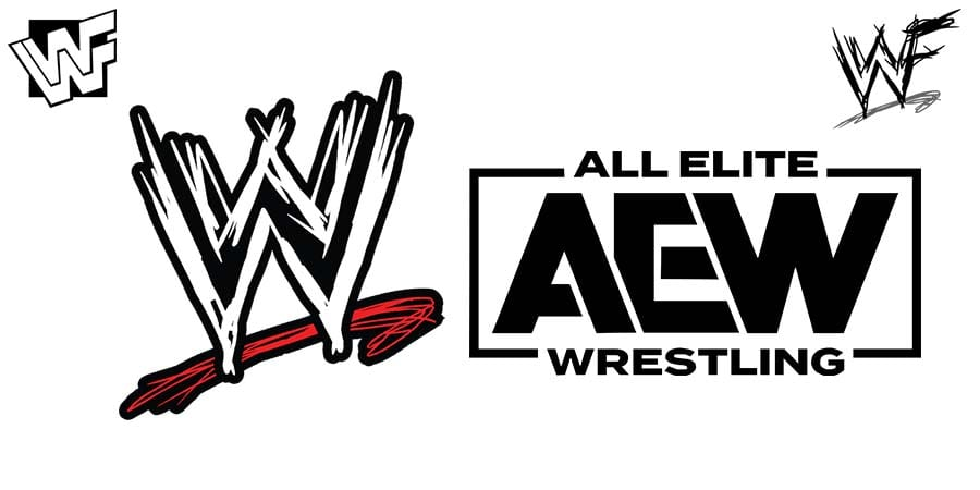 WWE AEW All Elite Wrestling WWE vs. AEW War