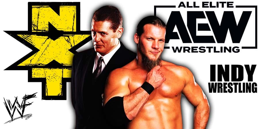 WWE NXT vs AEW Chris Jericho William Regal