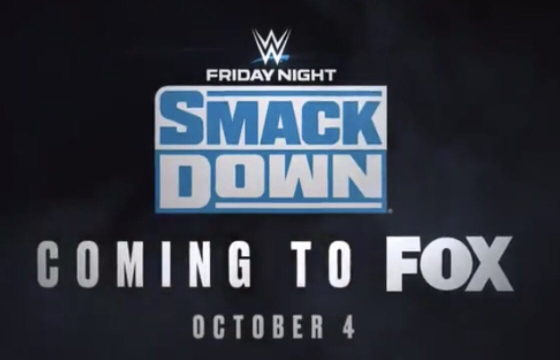 WWE SmackDown New Logo FOX 2019